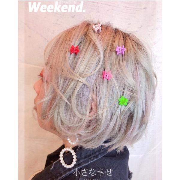 徵髮型模特‼️板橋Rhoda hair 銀河系灰🌌 😍😍😍 夾子可襯托俏皮 可愛風格‼️ 誰
