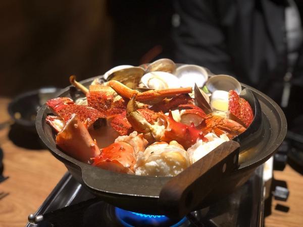 台北:憨人灶咖❤️居酒屋內的驚奇無菜單料理,海鮮吃到痛風也不怕🦞無菜單分為800,1200,150