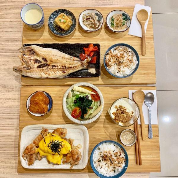 [高雄/前金_日一食堂]美食IG:licami82  這家日式定食收藏一陣子終於來吃了 光魚類定食就