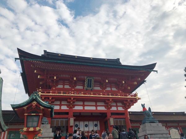 ▪️京都▪️神社踩點:伏見稻荷大社⛩️這次旅程多了一個興趣:到各神社蓋御朱印 在清水寺買好帳本獲得第