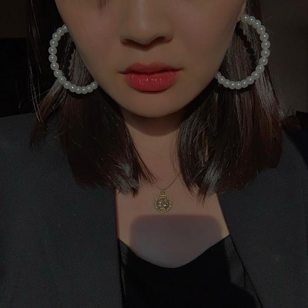 #淘寶戰利品 #水水耳環 淘寶除衣服很讚以外,水水耳環也是很猛耶! 質感超好~最愛歐美風拉拉拉拉~