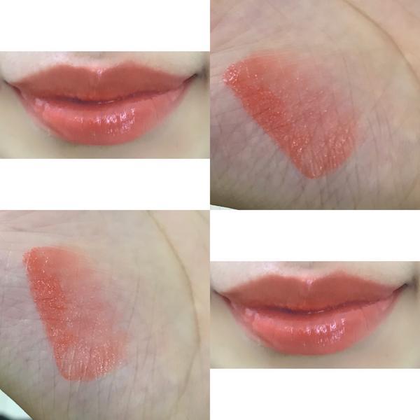 自製口紅 4這次是拿護唇膏的質地來調色 一樣調我自己喜歡的偏橘🍊 覺得擦起來 超滋潤(廢話)就說是
