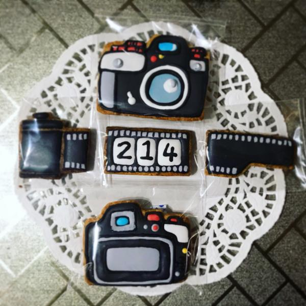 米漿廚房生日糖霜餅乾 送給喜歡攝影的朋友