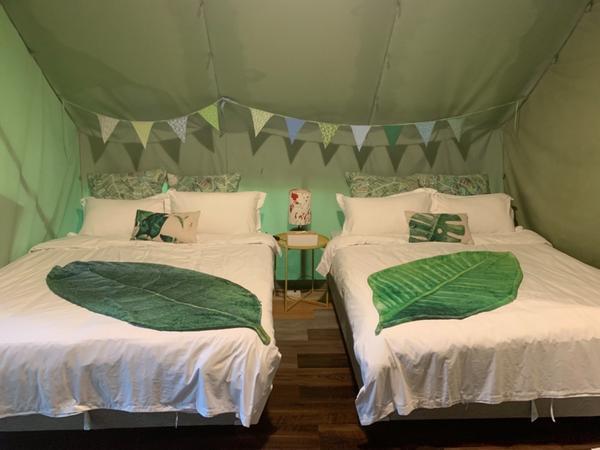 那一村體驗露營🏕️這地方很方便~🏕️ 很想露營又怕麻煩的妞們 不用想了去這就對了 還可以加購他們