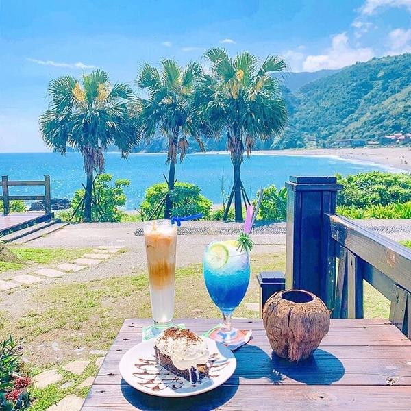 📍宜蘭👅 We Cafe' 我們的海灣☕️🏝☕️🏝☕️🏝☕️🏝☕️🏝 - 開在內埤海灣