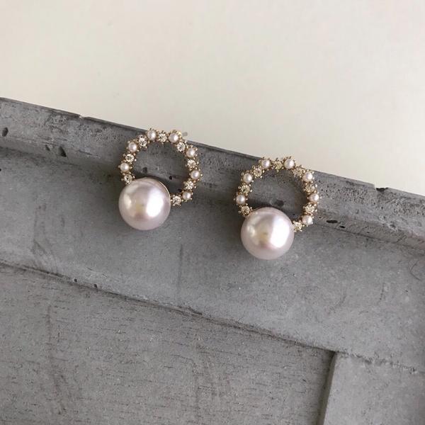 愛麗珍珠耳環很精緻的一款💖 現在 現貨+早鳥93折優惠  IG : likeetacc  蝦皮:l