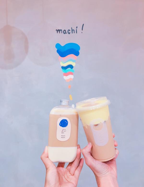 Machi machi 台中店🥛奶酪紅茶拿鐵 🍮烤布蕾紅茶拿鐵  好喜歡💕