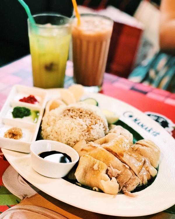 最❤️海南雞飯!正統大馬料理必吃這間呦~~~🔶 MAMAK檔 星馬料理 🔶 . ⏰營業時間:週日