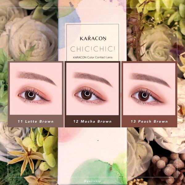 Karacon Chic Chic|日常低調棕色日拋3款𝙆𝙖𝙧𝙖𝙘𝙤𝙣  卡拉瞳┃Ch