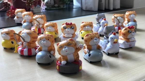 辦公室小物之白爛貓篇一群沒用又可愛的小物,有助於工作效率提升!🤣🤣🤣