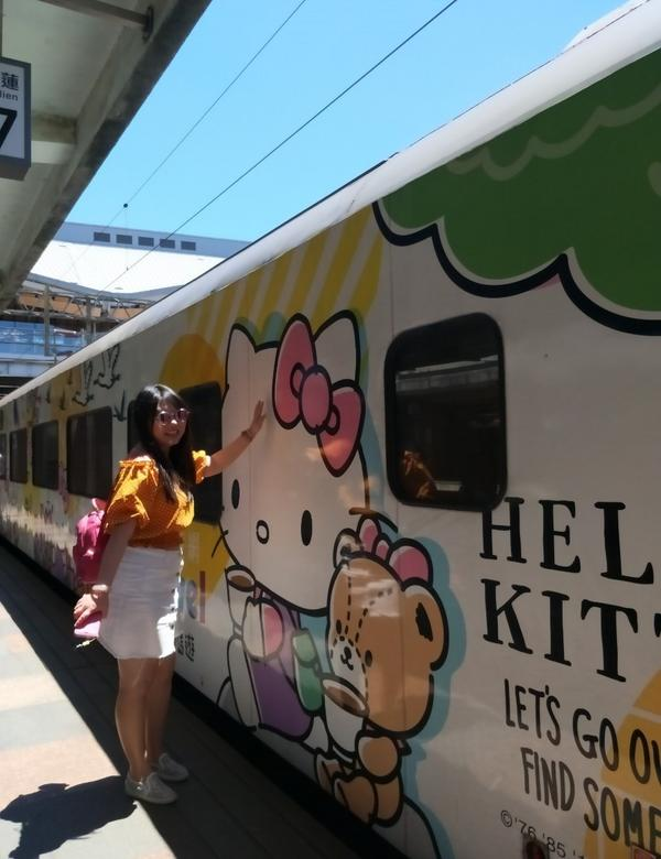 ☀坐Hole Kitty 環島之星去花蓮玩#tainan #hualien ##train #set