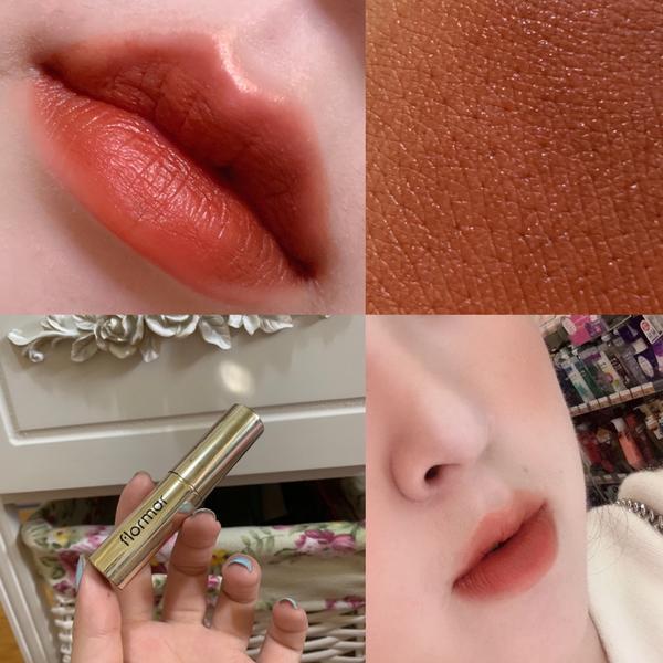 Flomra 絲絨唇膏這個顏色一看就是~啊~我要買! 似乎是限量色 但是每次我去看都有貨 我是不是消
