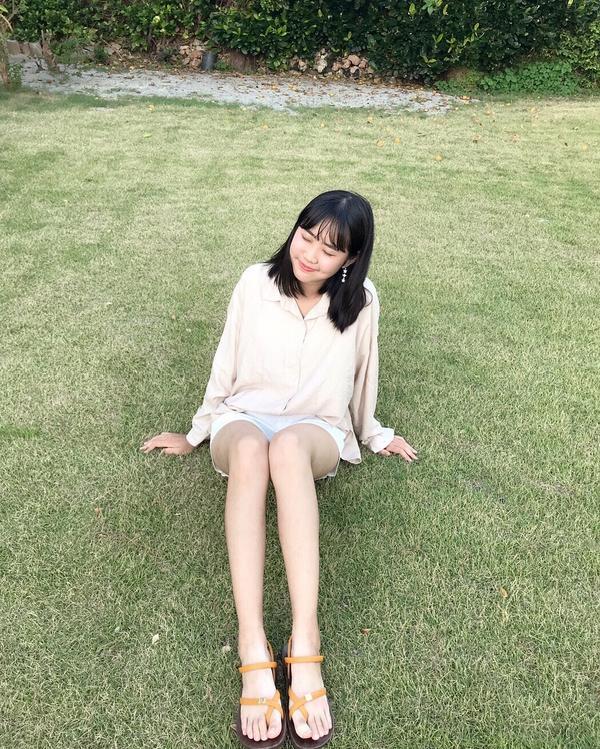 OOTD | I AM RINA!分享穿搭 上衣:queen shop  短褲:很久以前買的😂 涼