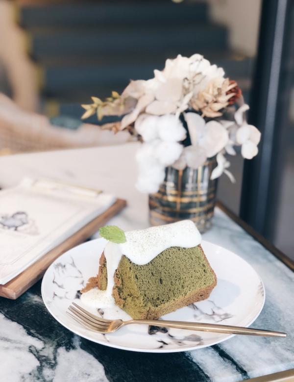 📍Chubby Bird County 位在捷運南京三民站附近的高質感下午茶 戚風蛋糕糕體很紮實不