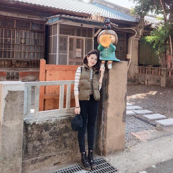 眷村小巷有可愛的貓