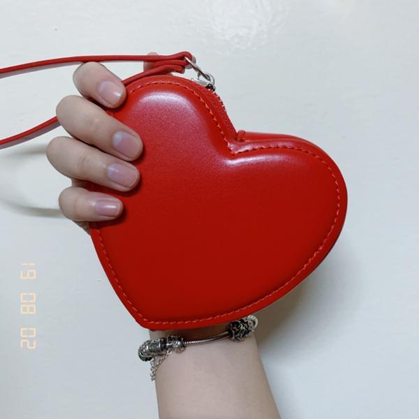 愛心零錢包❤️滿滿的零錢🤪