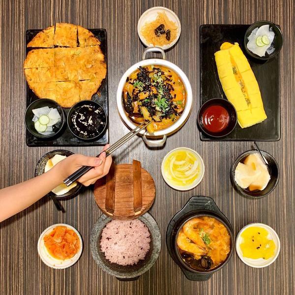 [高雄-三民→玉豆腐 韓國料理]美食IG:licami82  玉豆腐的分店幾乎都開在商場裡 吃韓式不