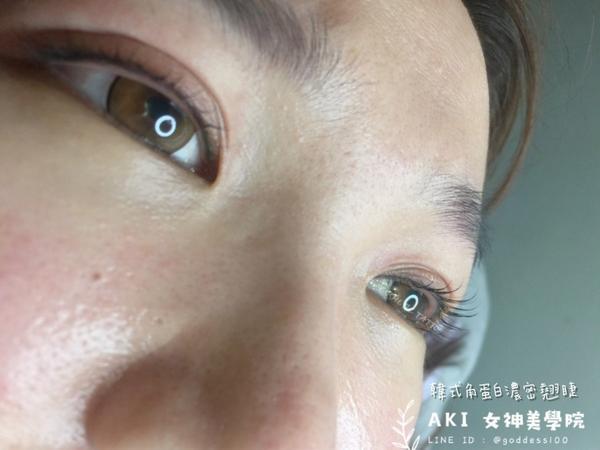 徵麻豆✨韓式角蛋白濃密翹睫術✨ - 每次操作完角蛋白美睫心裡總是旋轉撒花🌼 女孩說 不習慣嫁接睫毛