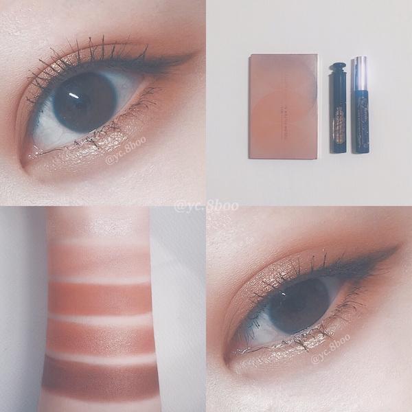玫瑰金眼妝💖/ 第一次深夜發文大家是否還在阿 今天跟大家分享的是玫瑰金眼妝 霧面和珠光眼影一起