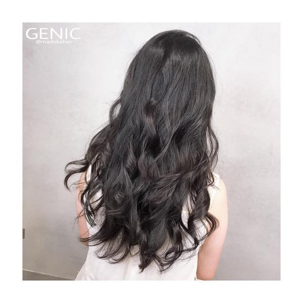 麻豆咖燙髮#溫朔燙 #大捲髮型 #深色髮色捲 黑髮也可以有立體感捲度💕 麻豆咖克制捲、長度由妳設定