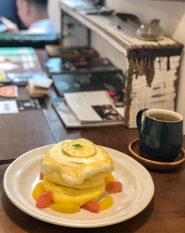 [台中美食]Kichi📍KICHI ▪️柑橘生乳酪 《季節限定》$220 - 終於吃到北屯舒芙蕾名