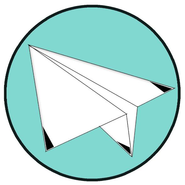 紙飛機寫故事