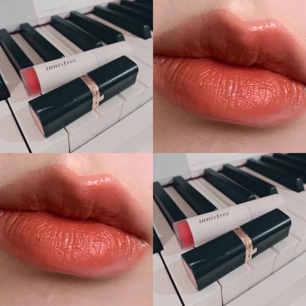 四季唇萃4+巴黎萊雅小黑管604因為四季唇萃有染唇的效果先上上去之後壓乾在疊一層604顏色更飽和之外
