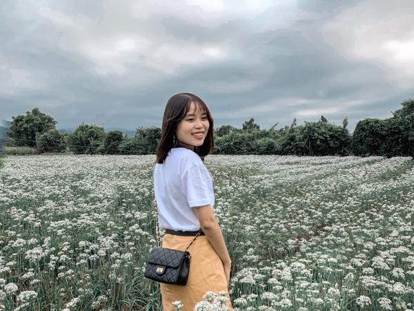 台灣🇹🇼桃園景點 大溪韭菜花田上次來韭菜花田已經是兩年前,這次再去拍照的人變得更多然後韭菜花還是