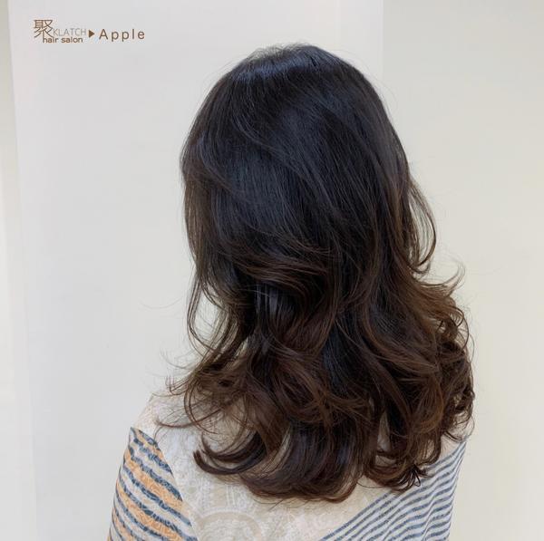 #風鈴仙氣燙 ➿👩🏼🦱 #中長髮 #線條感  💁🏻♀️以每個人髮質條件客製調整修飾臉型
