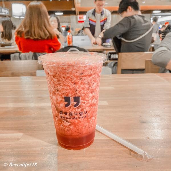 健康舒飲推薦健康的新選擇-新鮮水果飲 🍹貳莓冰沙(藍莓+草莓) 酸甜口感-不會太酸了也不會太甜喔!