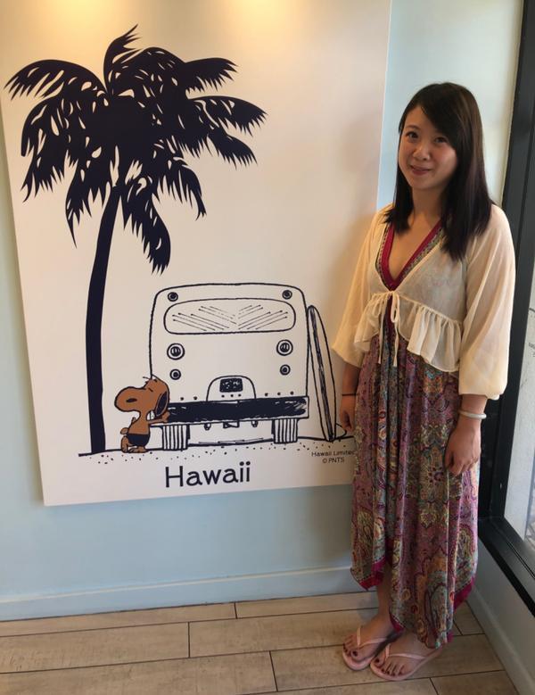 夏威夷限定史努比❤️焦糖色的史努比❤️ 實在太可愛了❤️ 有機會到夏威夷千萬不要錯過 在夏威夷曬到變