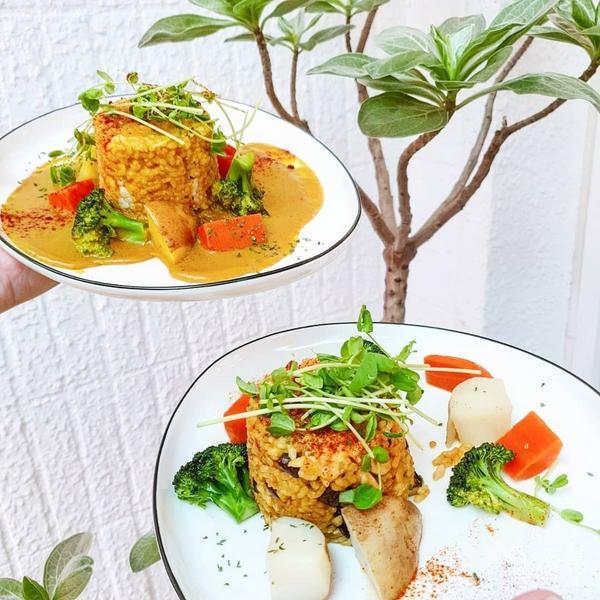 米糀田 蔬食料理。手釀🥦🥦🥦 - 🔎 米糀田 蔬食料理。手釀 📬 台中市北區健行路766巷