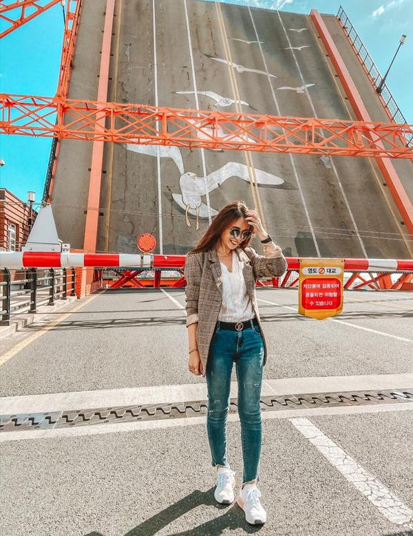 釜山必拍~影島大橋第一次去釜山當然不能錯過這個知名的觀光景點🔝影島大橋連接陸地(南浦洞)與島嶼(影