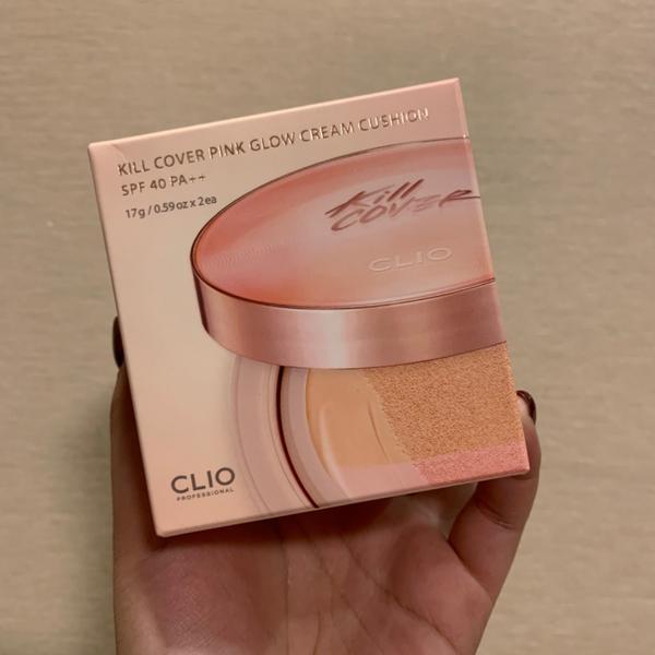 CLIO KILL COVER PINK GLOW CREAM CUSHION前陣子在韓國買的粉紅光