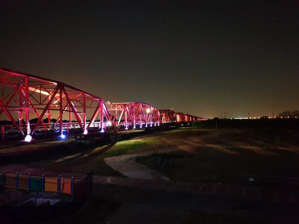 2019/10/10-西螺大橋封橋每年雙十節一定會有的西螺大橋觀光文化節(今非昔比),剛好遇上第一次