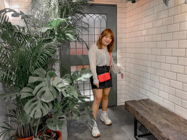 宅女出門吃吃喝喝👚#淘寶 👗#50% 👟#MBL 👜#Marc Jacobs