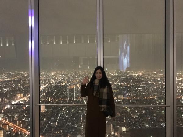 #大阪阿倍野360觀景臺阿倍野的夜景真的超美的! 每次去大阪必去! 阿倍野也是近幾年才變成熱門打卡景