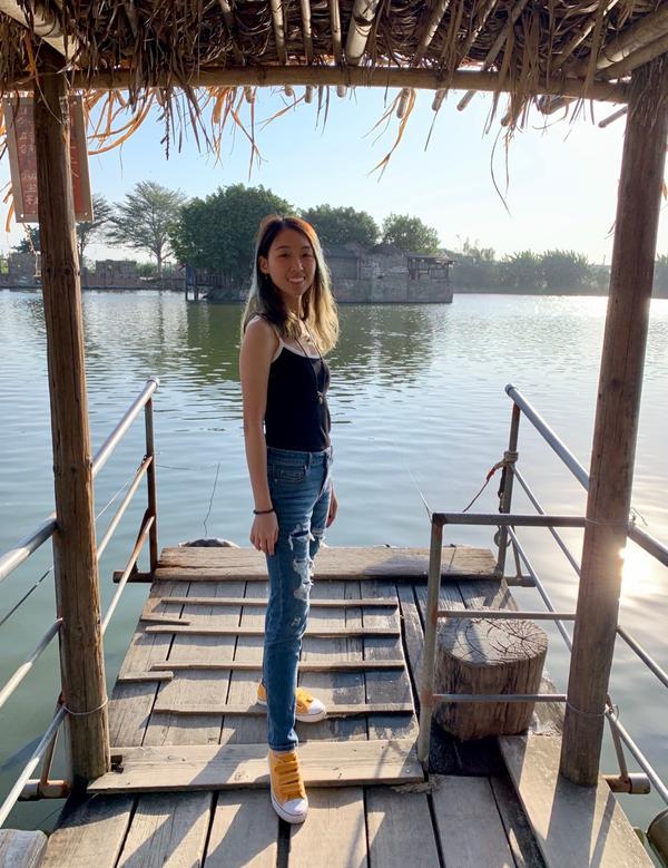旅行進行中👣#台南景點 #老塘湖藝術村 #狠愛演  狠愛演推薦行程👍 真的很好玩❤️❤️