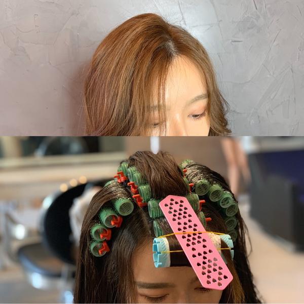 韓系無痕髮根燙常常有女生問說 怎麼辦 我的頭頂好塌 我的頭髮好細 頭髮好貼  這次的發根燙和以前那種