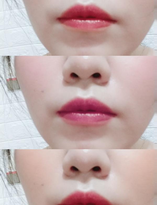 M.A.C 色誘俏唇釉顏色真的有夠美 讓嘴唇水潤潤~😍