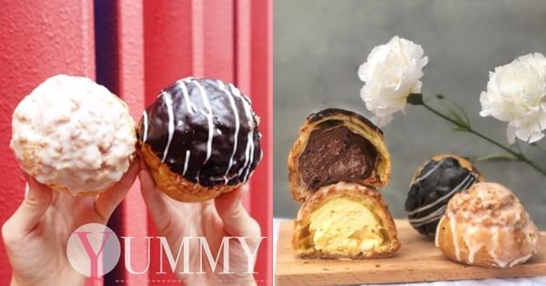 網友表示:天堂的滋味無誤!甜點控都超推的泡芙又升級啦~這次脆皮更脆、爆漿更爆誰受的了~