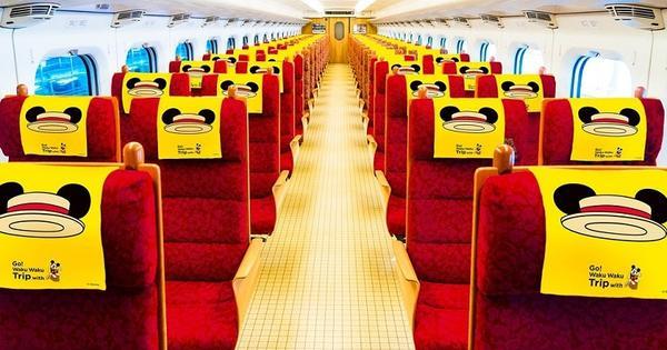 【日本】超萌新幹線,Hello Kitty、米奇主題列車萌到尖叫!