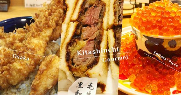 饕客的隱藏美食都在這!大阪的美我用胃記住了,北新地超阿莎力的份量口水流滿地!