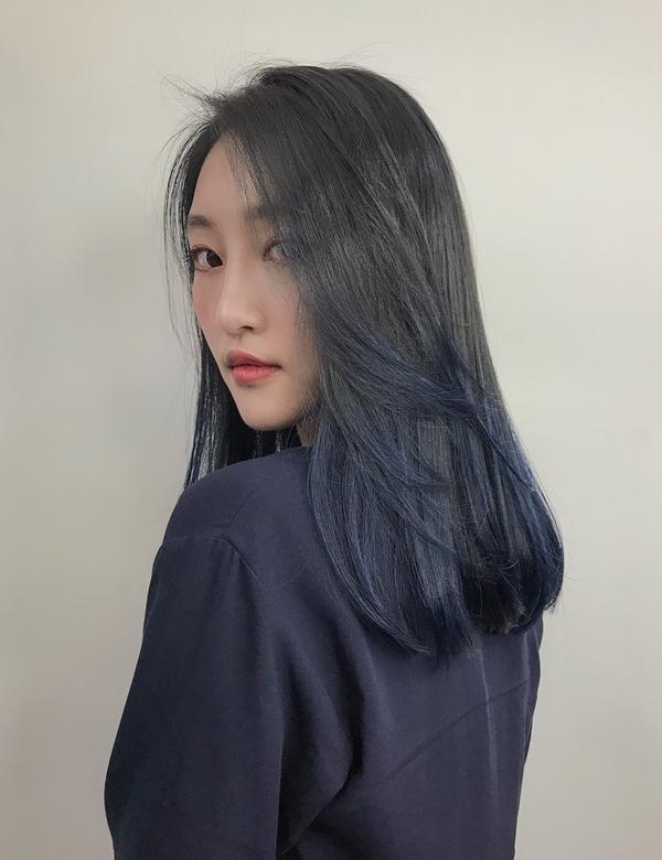 漸層染🌈漸層染🌈-色系以質感髮色為主,彷彿大海般的漸層感。 - #日常 #Dailyhair #