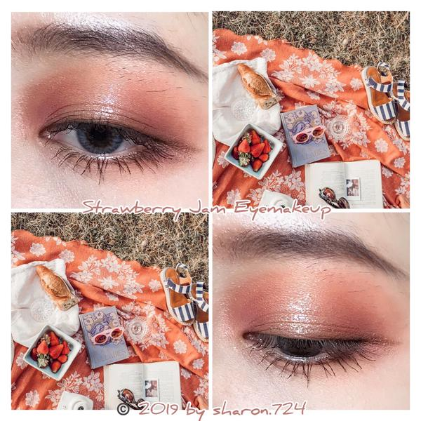 🍓草莓果醬妝🍓Eye Makeup  Eyeshadow: 用了很多盤 Mascara: Top