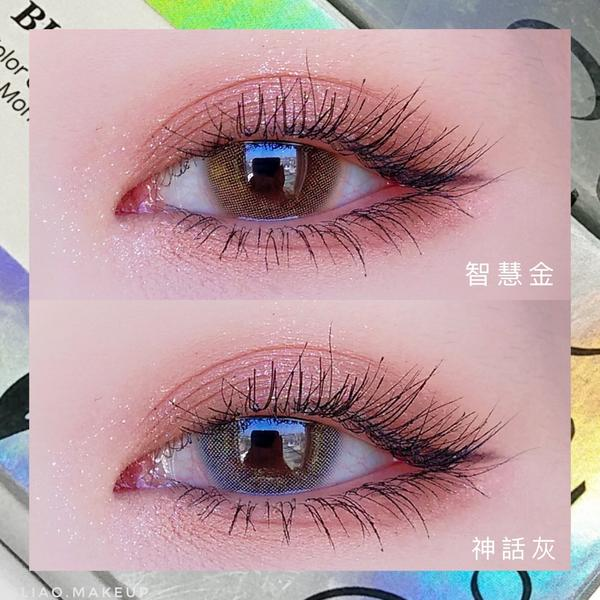 清透自然混血款😍 神美隱形眼鏡!美麗康 維納斯系列⠀ ⠀ 類型:月拋|規格:1片裝⠀ 直徑:14.