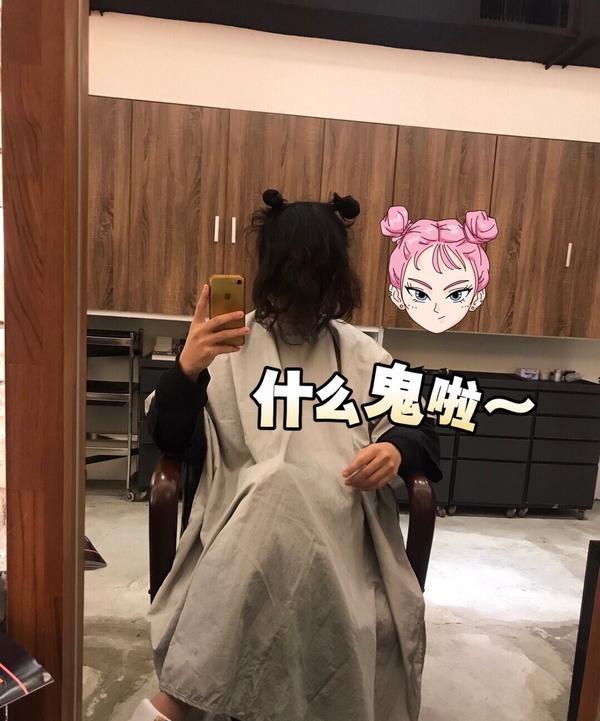 告別藝術家,來去韓國當學生 😂今天終於告別藝術家丸子頭的造型了 其實有點不捨這個長度...😭 剪