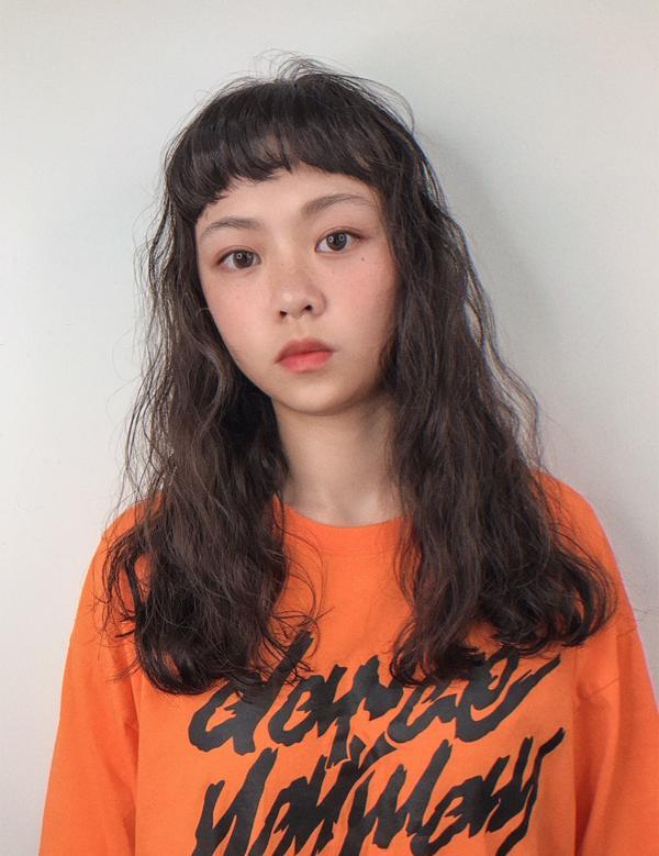 人氣燙髮🔥水波紋人氣燙髮🔥水波紋-(👉before)秒變視覺系女孩、烘乾即可👍。 - #日常