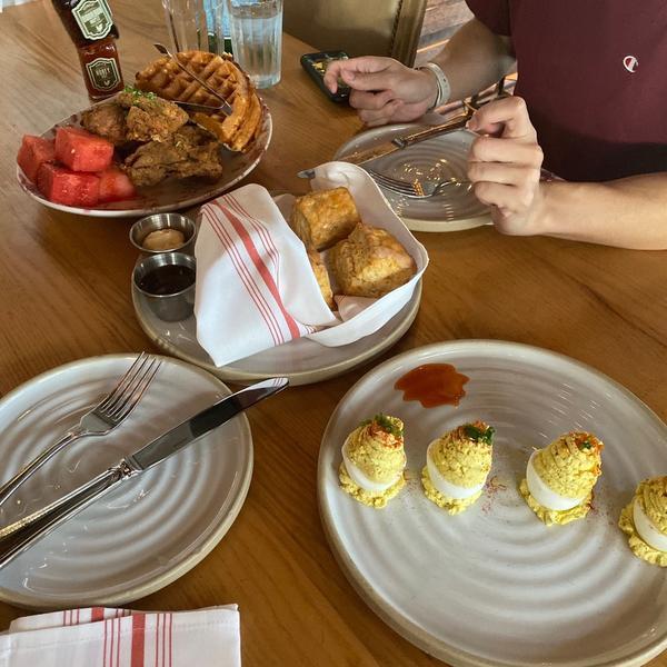 Yardbird Southern Table and Bar Chicken Watermelon