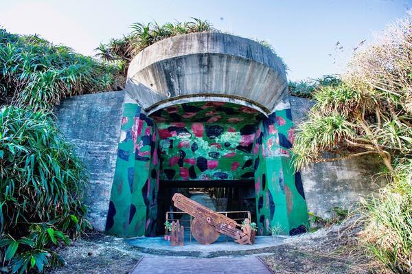 四八高地戰備坑道|戰爭與歷史的聖地2020全新開放的四八高地戰備坑道 在七星潭曼波園區的花海旁邊 是
